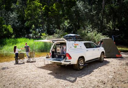 Camping-car Britz 4WD