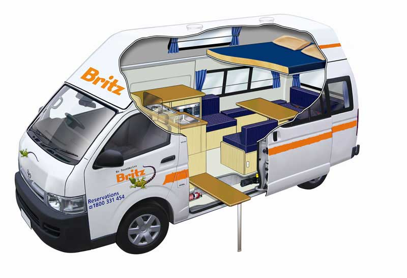 Britz Voyager Camping Car Standard 4 Personnes
