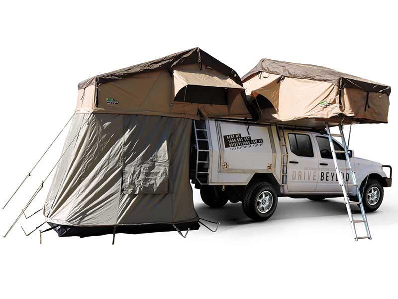 beyond drive 4wd 2 tentes de toit camping car 4x4 5 personnes voyages australie la carte. Black Bedroom Furniture Sets. Home Design Ideas