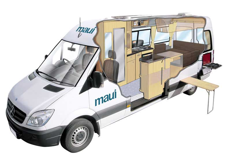 Maui Ultima Camping Car Sup 233 Rieur 2 Personnes
