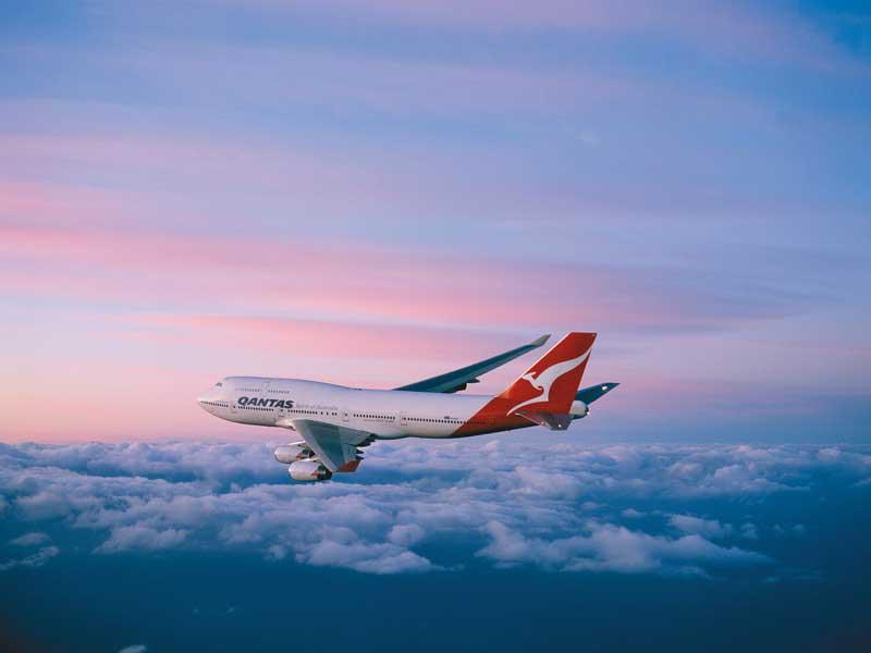 Carte Vol Qantas Australie.Qantas Compagnie Aerienne 4 Etoiles Voyages Australie