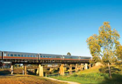 Australie Train Inlander