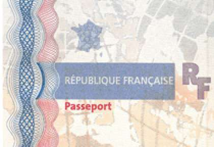 Passeport France couverture