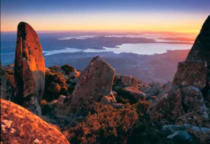 Tasmania - Hobart Mt Wellington
