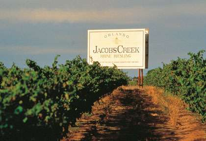 Jacobs Creek en Australie