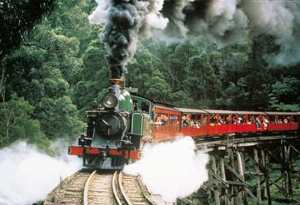 Le train de Puffing Billy