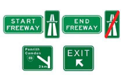motorway en Australie