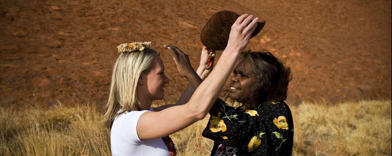 Rencontres aborigènes à Uluru - Ayers Rock
